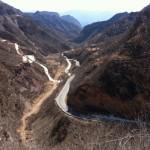 Mountain Road in China