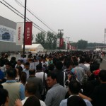The Crowds at the Chinese Auto Show