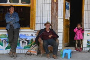 A stop at a roadside restaurant in northern Sichuan
